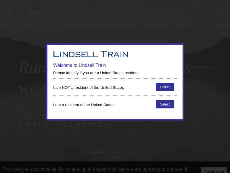 Lindsell Train