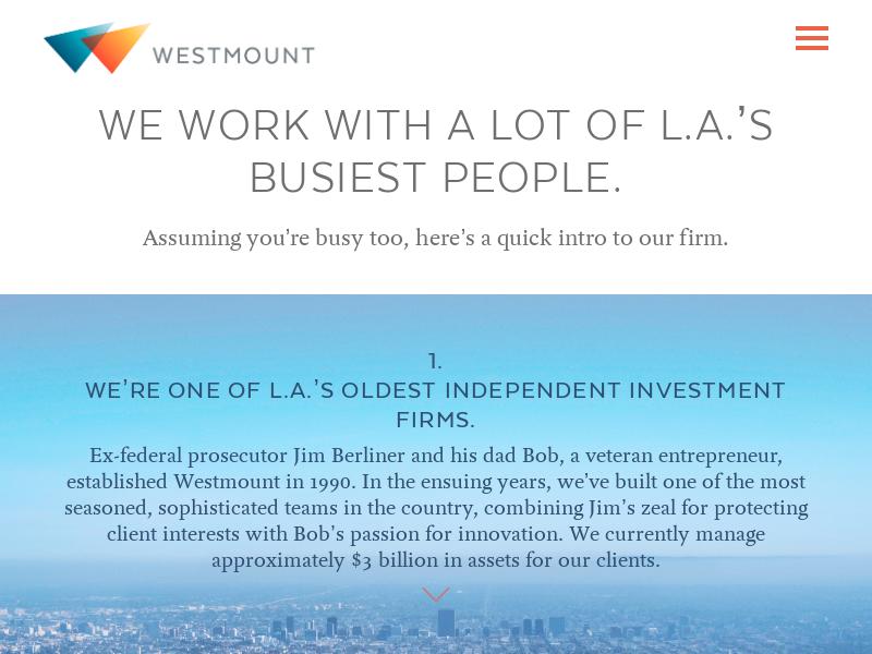 Westmount |Introduction