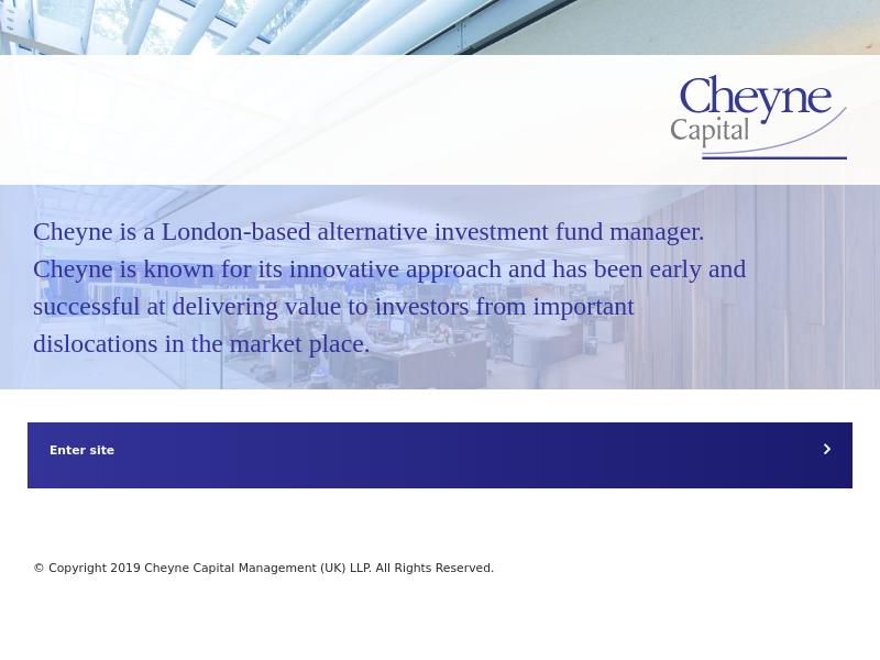 Cheyne Capital | Alternative Asset Management & Investment UK