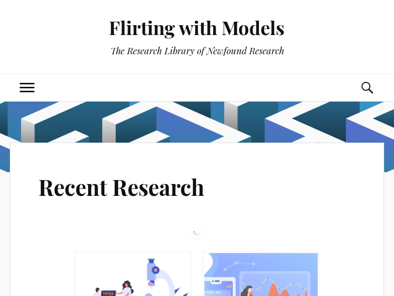 Recent Research | Flirting with Models