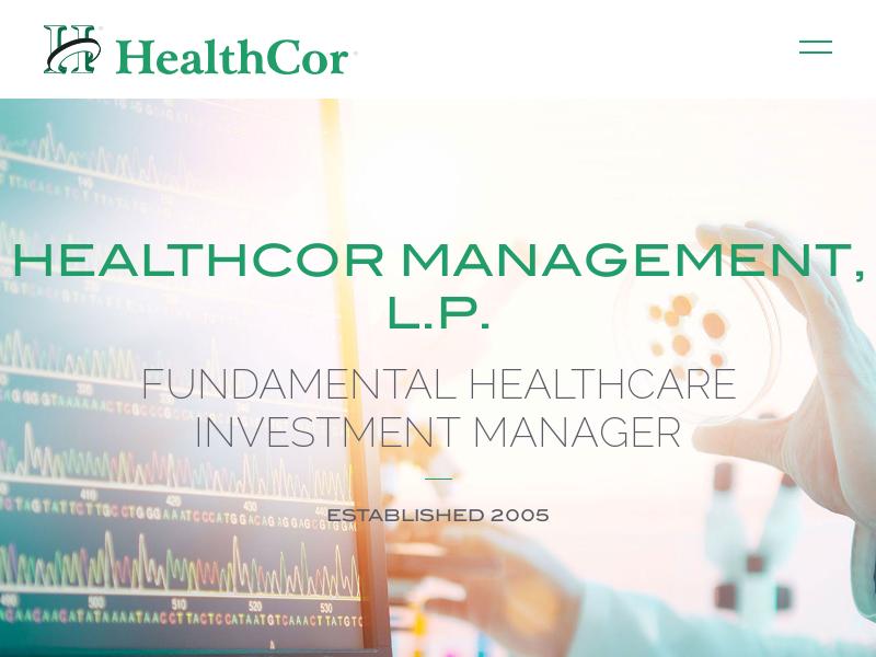 HealthCor Management, L.P.