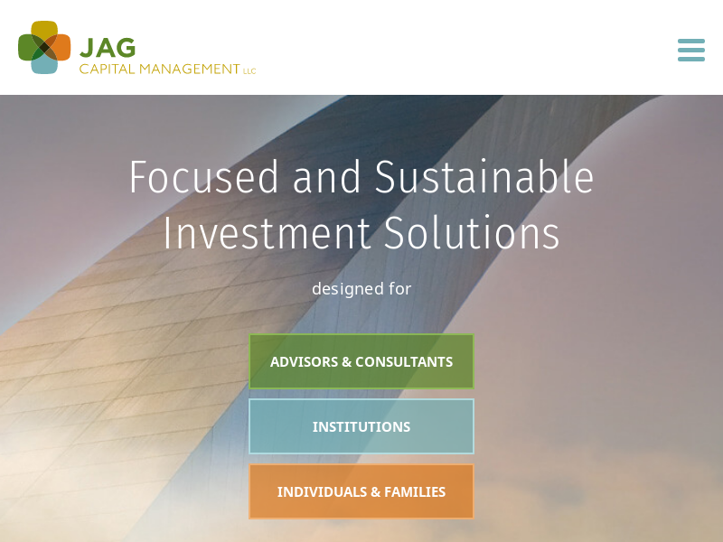 Portfolio Management Services St. Louis | JAG Capital Management