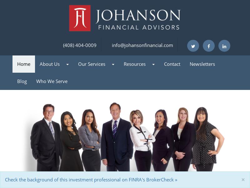Home | Johanson Financial Advisors