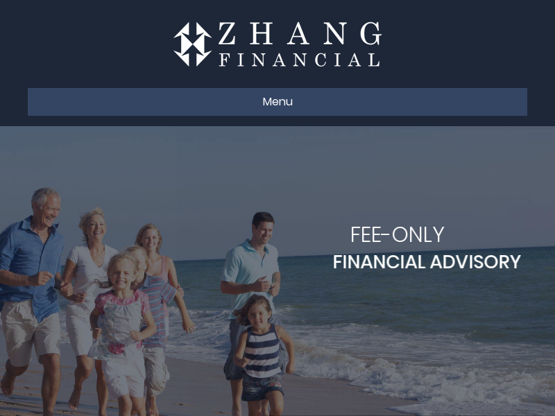 Fee-Only Financial Advisory Firm - Zhang Financial