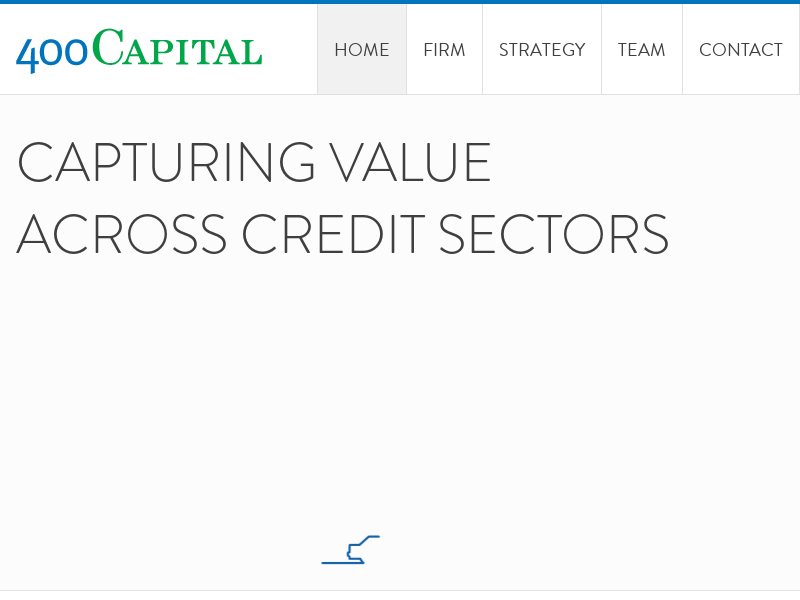400 Capital Management | Capturing Value Across Credit Sectors