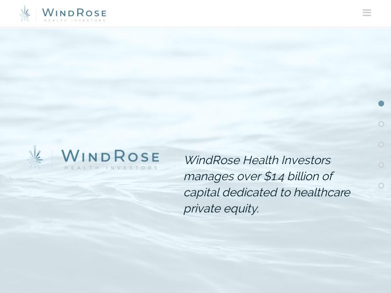 WindRose Health Investors