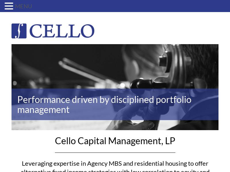 Cello Capital Management, LP