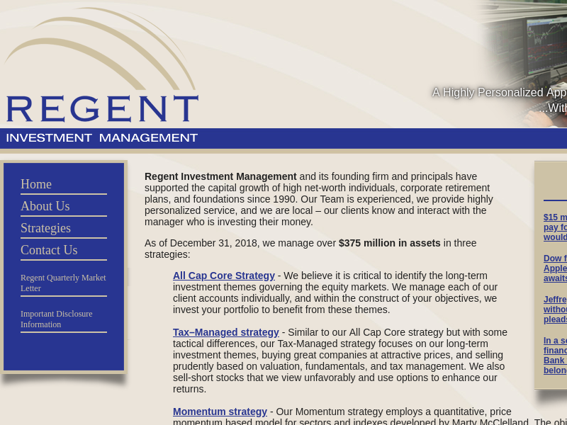 Regent Investment Management - Home