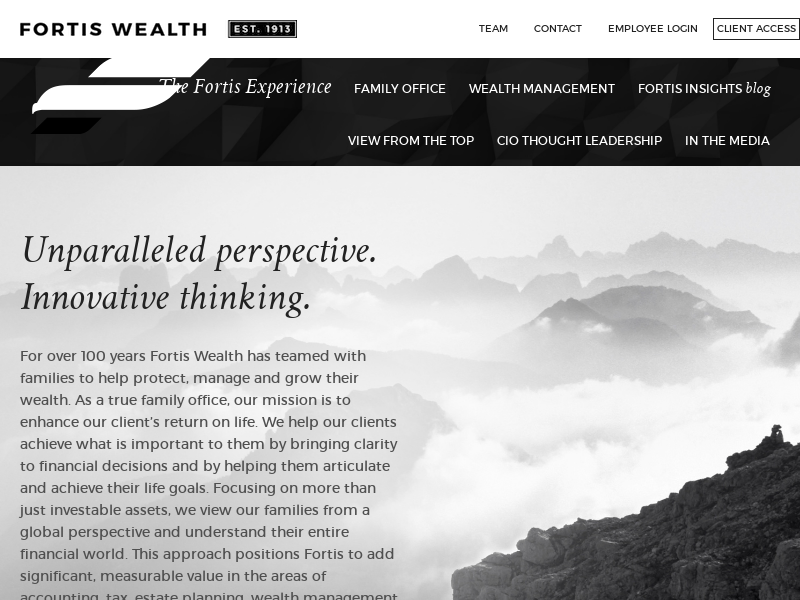 Home - Fortis Wealth