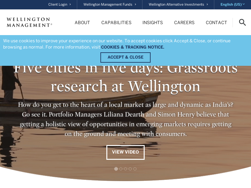 Home | Wellington Management