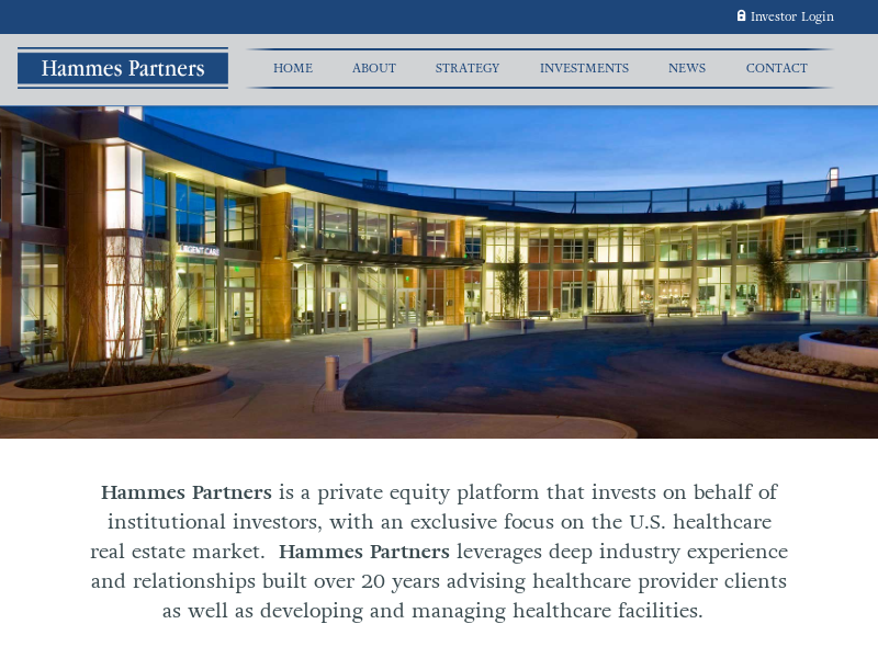 Hammes Partners Home