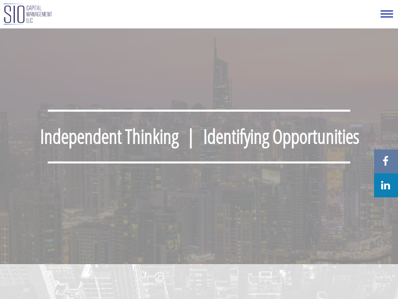 SEC-Registered Investment Advisor - Sio Capital Management, LLC