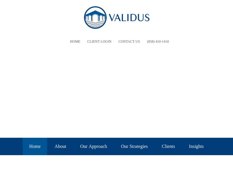 Validus Growth Investors
