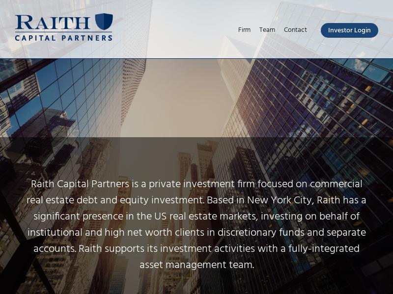 Home - Raith Capital Partners