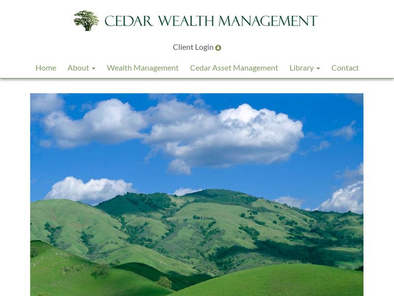 Home | Cedar Wealth Management