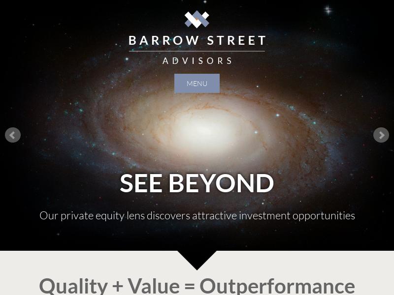 Barrow Street Advisors: Welcome