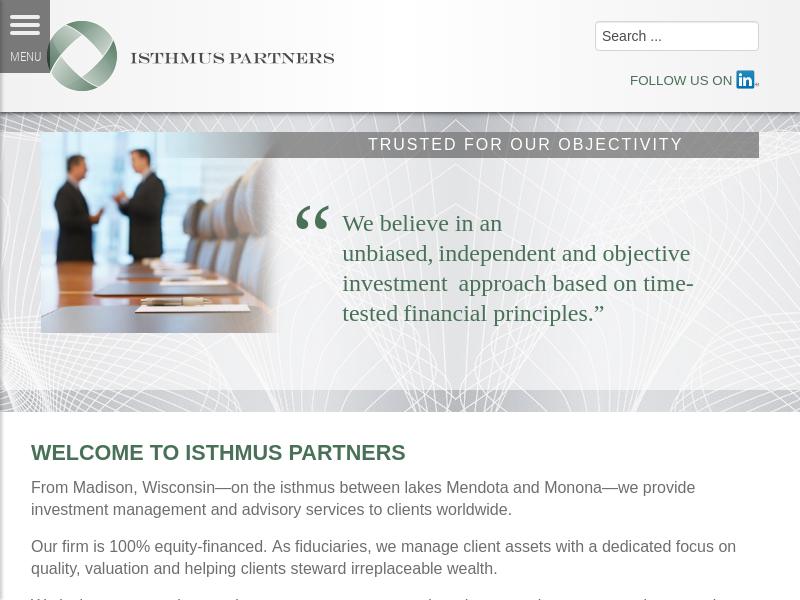 Isthmus Partners – An Asset Management Firm