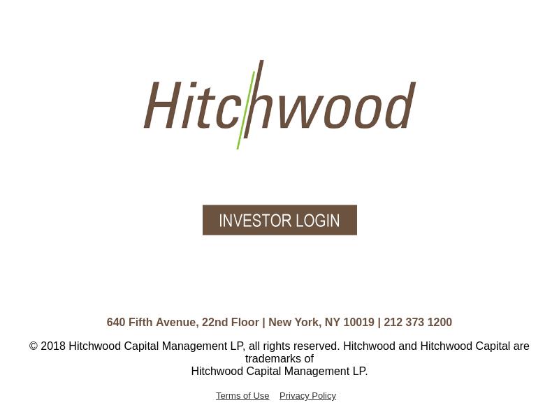 Hitchwood Capital Management LP