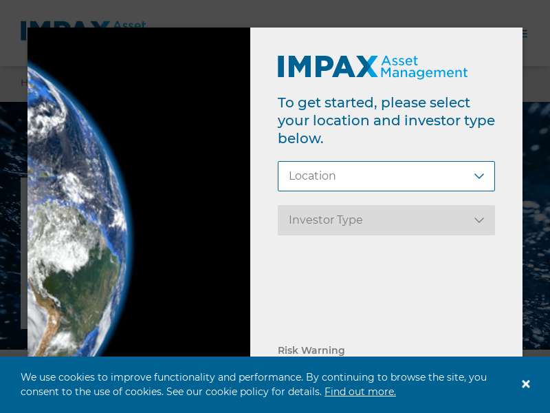 Impax Asset Management - Specialists in the Transition to a more Sustainable Economy