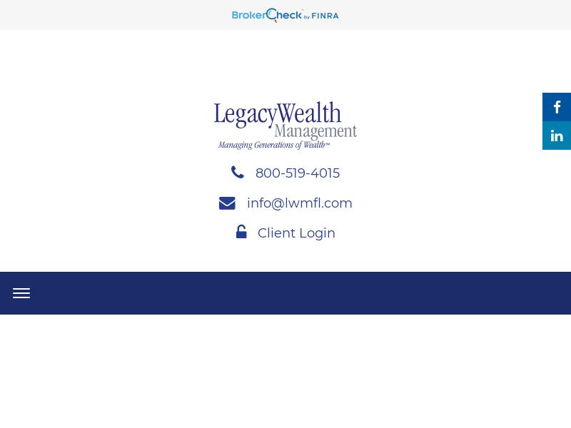 Legacy Wealth Management | Plantation, FL | Investment Advisors