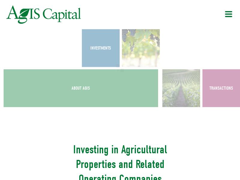 HOME - AgIS Capital LLC