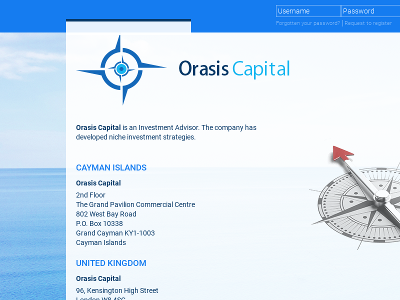 Orasis Capital