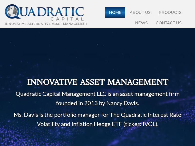 Quadratic Capital Management | Asset Management