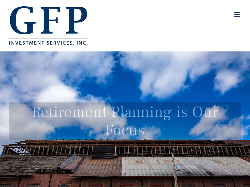 GFP Investment Services, Your Retirement Plan Company - GFP Investments