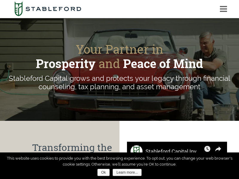Stableford Capital Financial Services and Investment Firm