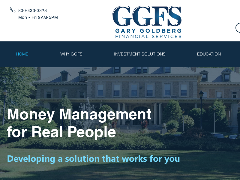 Money Management | Gary Goldberg Financial Services | United States