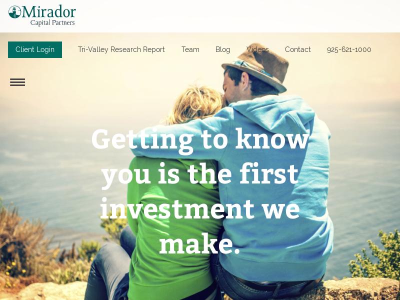 Mirador Capital Partners: Bay Area Financial Advisors