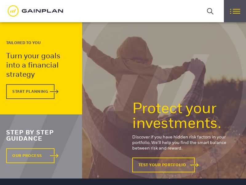 Homepage | Gainplan