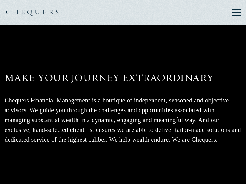 Home | Chequers Financial Management