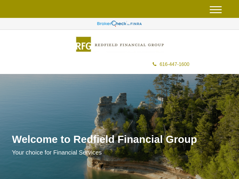 Page Not Found | Redfield Financial Group