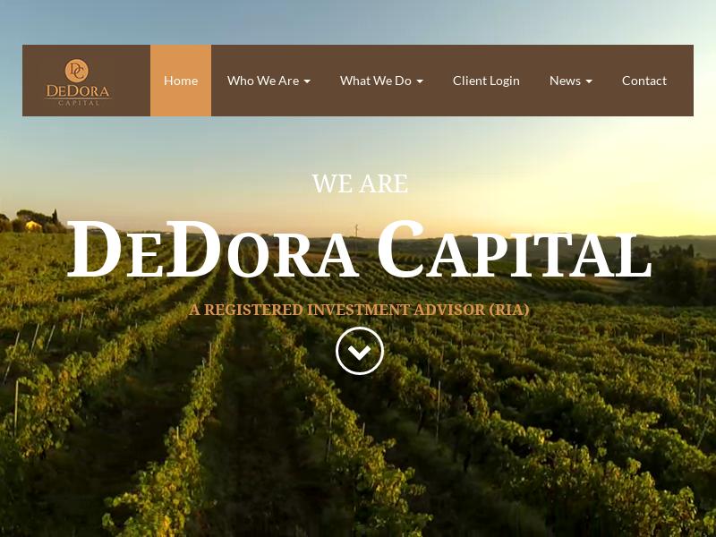 Home | DeDora Capital