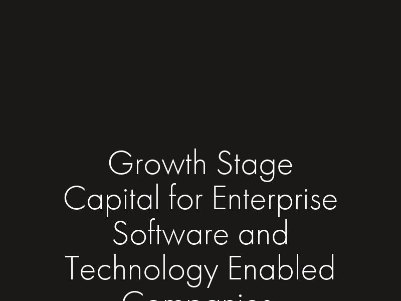 Palisades Growth Capital