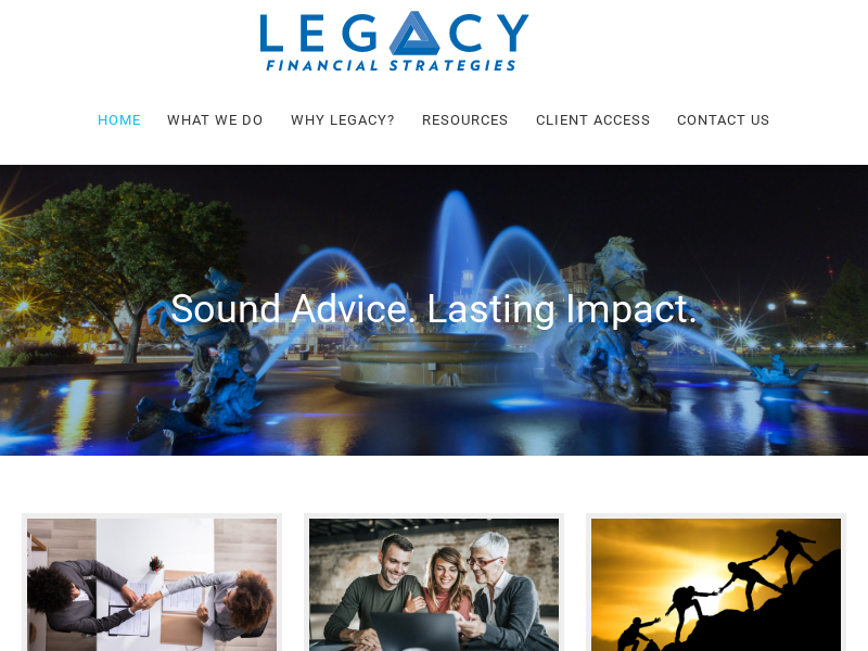 Legacy Financial Strategies, LLC - View Your Plan Anytime, Anywhere