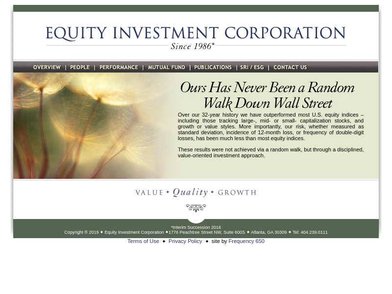 Equity Investment Corporation