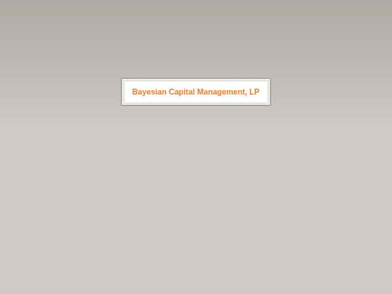 bayesian.capital