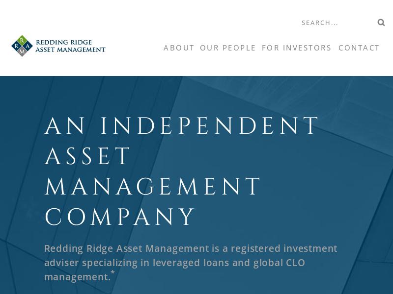 Redding ridge asset management (uk) llp – Redding Ridge Asset Management