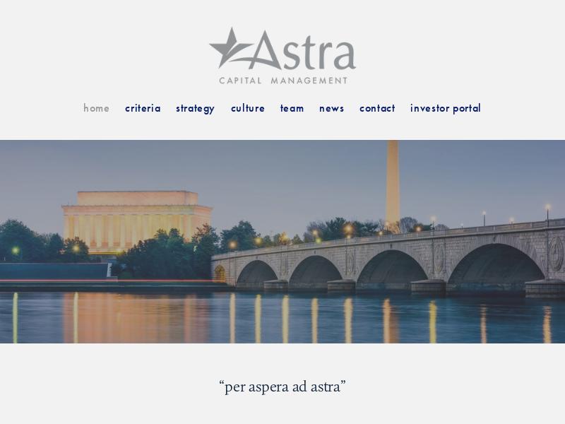 Astra Capital Management