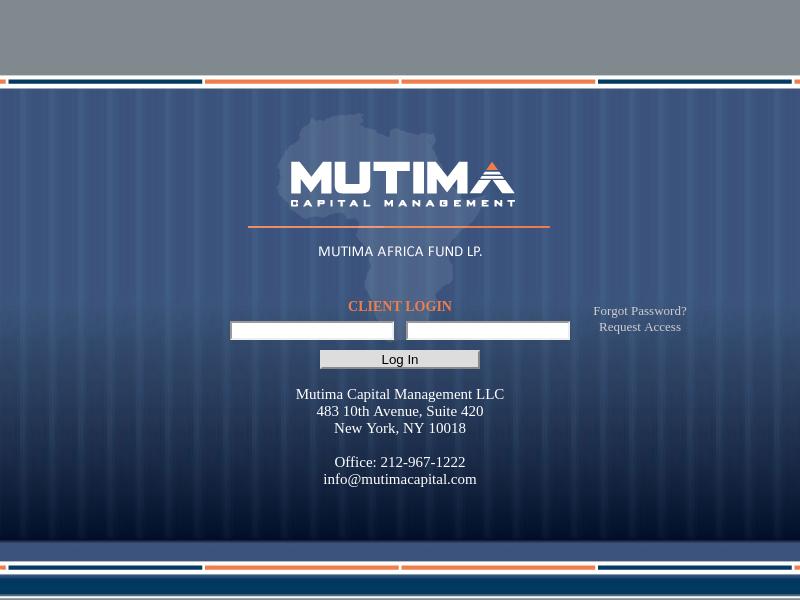 Mutima Capital Management LLC
