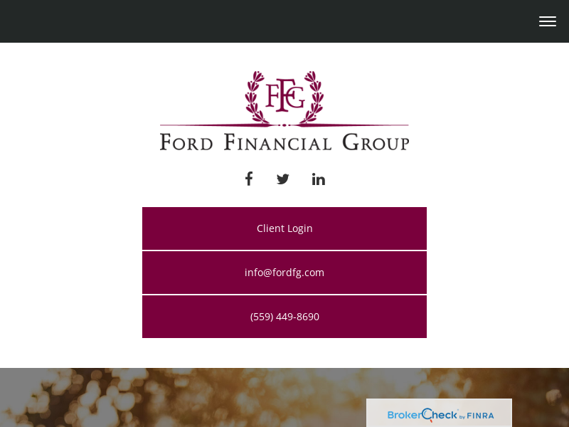 Ford Financial Group   Fresno Personal Financial Consultants   Financial Advisor / Investment Advice