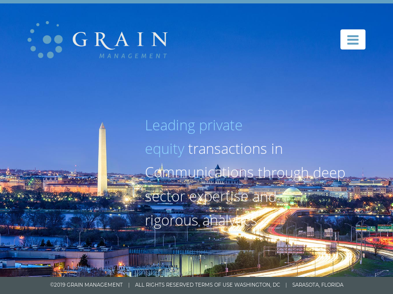 Grain Management | Private Equity | Communications