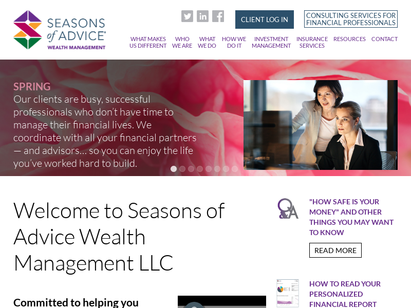 Seasons of Advice
