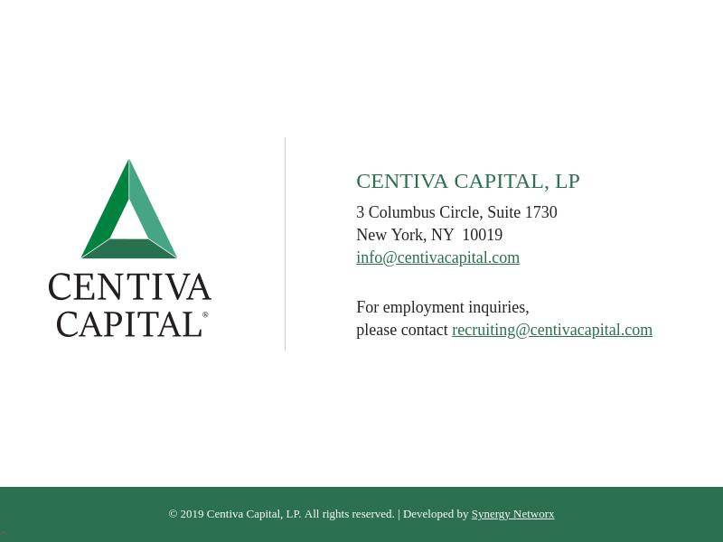 Centiva Capital, LP
