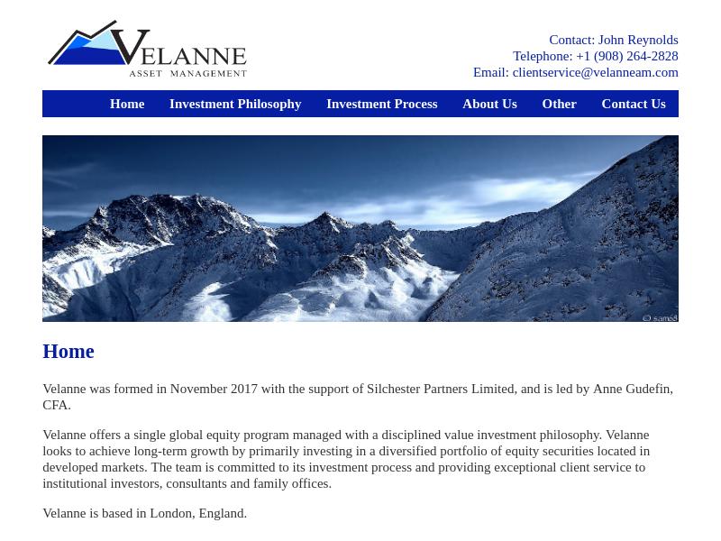 Velanne Asset Management Limited