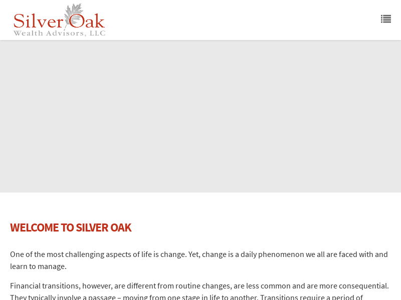 Silver Oak Wealth Advisors | Expert Wealth Management For Individuals In Transition