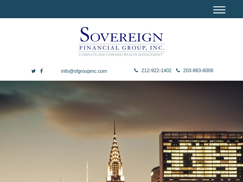 Home | Sovereign Financial Group, Inc
