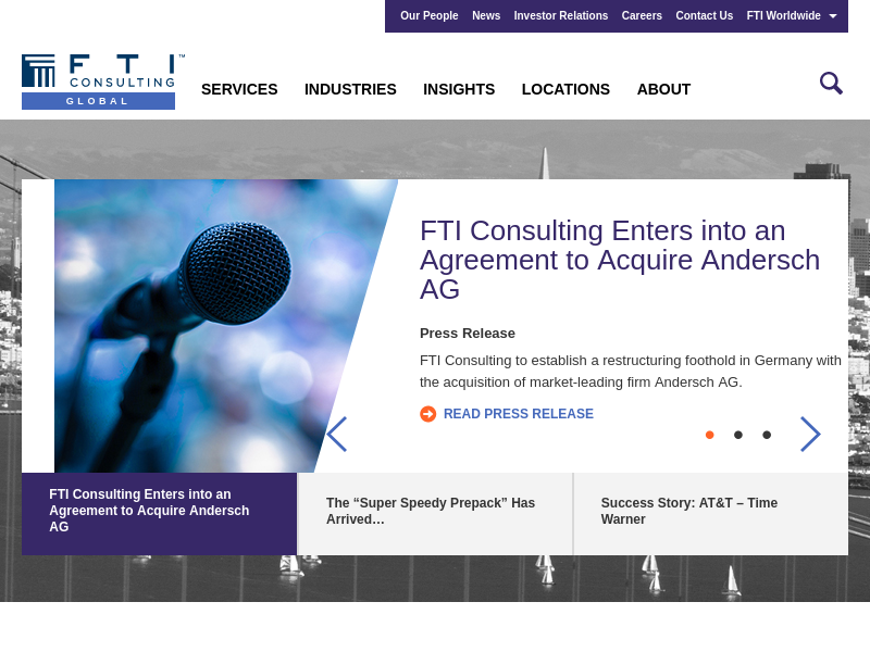 FTI Consulting | A Global Consulting Firm | Strategy Consulting